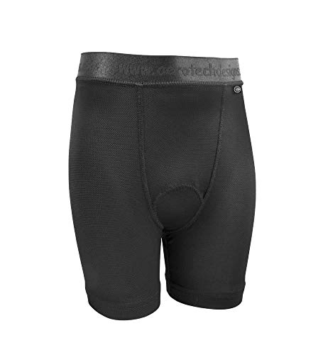 fbbd7f7da9a3f ATD Children s Padded Cycling Underliner Bike Shorts - Made in USA (Small