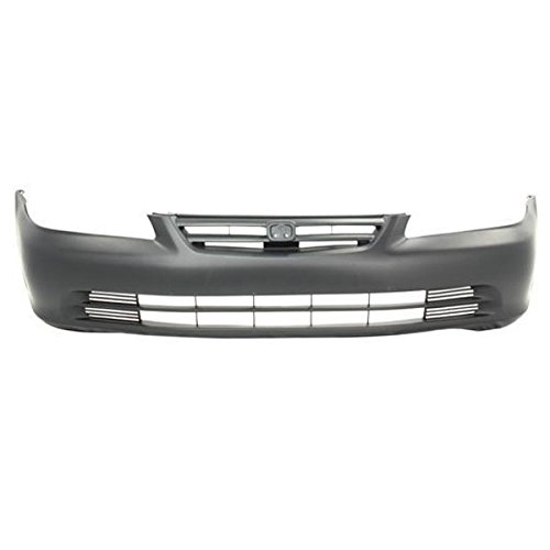 01-02 Accord Sedan Front Bumper Cover Assembly Primed HO1000196 (Sedan Bumper Package)