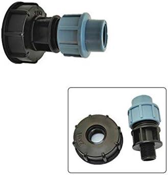 IBC S60X6 Adaptateur 25mm raccord coudes pour raccords de tuyau 20mm raccord droit//raccord coudes//raccord T pour permettre de contr/ôler et r/éguler le d/ébit deau