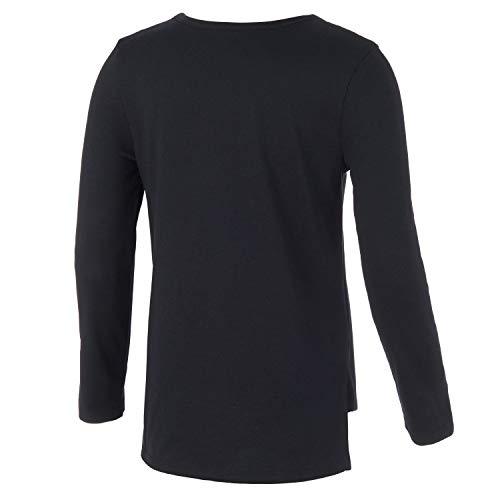 adidas Girls' Long Sleeve Scoop Neck Tee T-Shirt 2