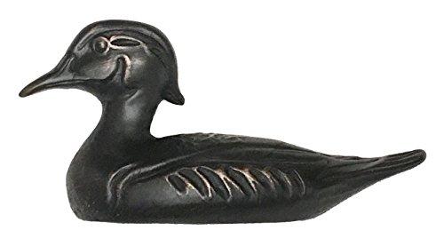 (D'Artefax DHP93-Orb Duck Decoy Pull (Left Facing) Decorative Cabinets, Oil Rub Bronze)