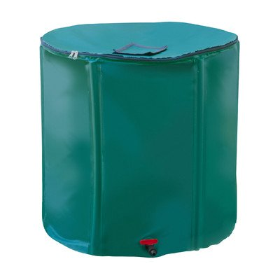 Systems Trading STC Collapsible Rain Barrel with Diverter...