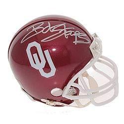 Signed Oklahoma Sooners Mini Helmet Autographed Mini