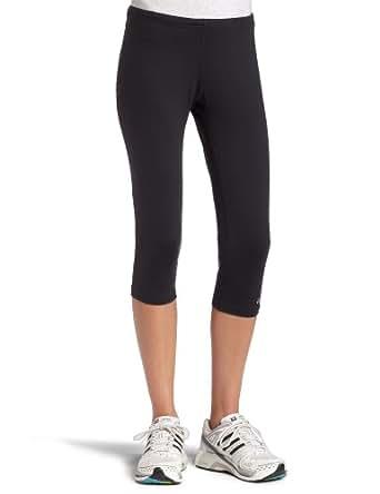 ASICS Women's Performance Running Capri Tight,Black,X-Small