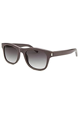 Saint Laurent graue Sonnenbrille Classic 12 RaA8d3I