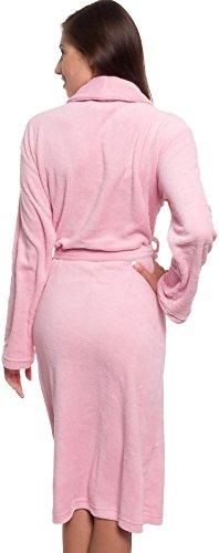 Silver-Lilly-Lightweight-Kimono-Robe-For-Women-Plush-Comfy-Longer-Bathrobe-Sizes-Small-Plus-Size-XXL