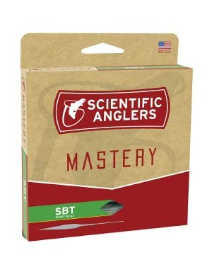 (Scientific Anglers Mastery Series SBT (Short Belly Taper) Floating Fly Fishing Line (Willow/Orange/Willow, WF7F))