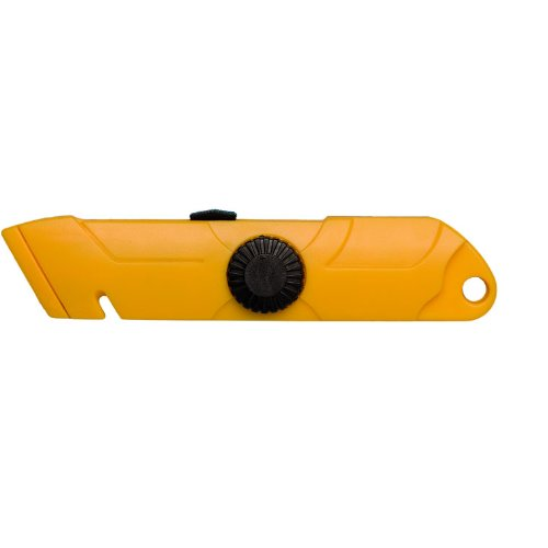 Tach-It Model-P Lightweight Hi-Impact Plastic Safety Utility Knife (Pack of 12)