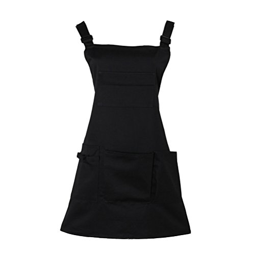 Nanxson Fashion Women Multi Function Working Work Apron with Tool Pockets CF3010 Black by Nanxson (Image #7)