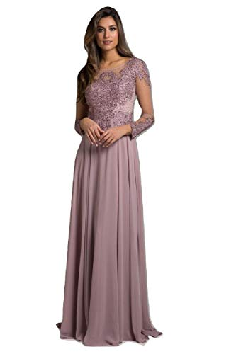 Long Lara Dress Mauve Earth Dress 29921 fqpwxPtAg