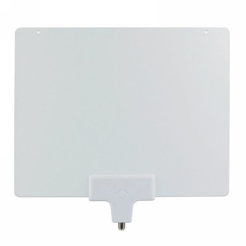 Mediasonic HW-210AN Indoor HDTV Antenna, HomeWorx, High Performance, Super Thin, 35 Miles