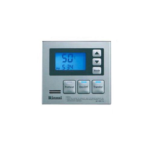 Rinnai MC-100V-1S Deluxe Remote Controller, Silver