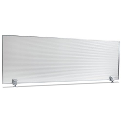 Alera PP4718 Polycarbonate Privacy Silver product image
