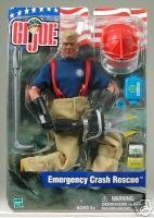 Gi Joe 12' Accessories - GI Joe Emergency Crash Rescue 12 Figure