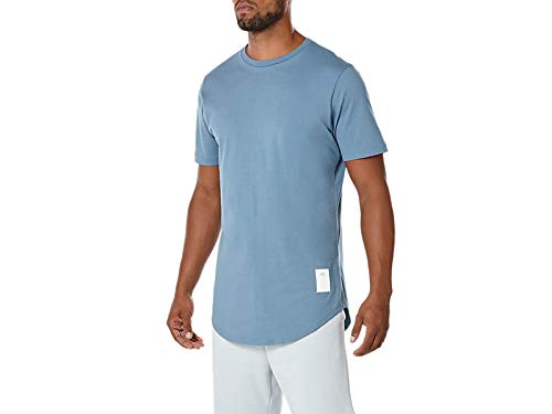 ASICS Men's Tiger Premium Short Sleeve Tee 2, Blue Small ()