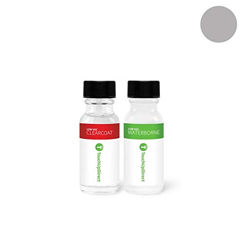 (TouchUpDirect Exact Match Automotive Touch Up Paint Compatible with Jeep Billet Silver Metallic (PSC/JSC) Jar - Essential Package)