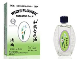Amazon white flower analgesic balm floral scent from hoe white flower analgesic balm floral scent from hoe hin pak fah yeow 008 oz mightylinksfo