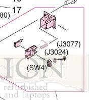 Hp Laserjet 9500 Rg5-5699-000cn End Paper Sensor -