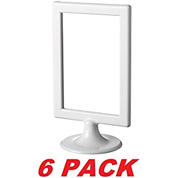 ikea photo frame tolsby white 4 x 6 6 pack each frame holds 2 pictures