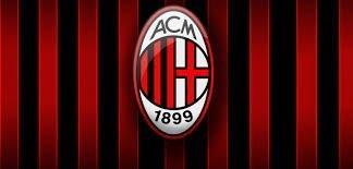 Eight Inch Round AC Milan Logo Edible Image