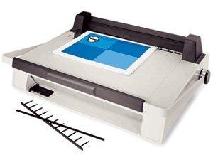 9707023 GBC V800pro Velobind System One Velo Binding Machine, Binds Books Up To 1'' Thick