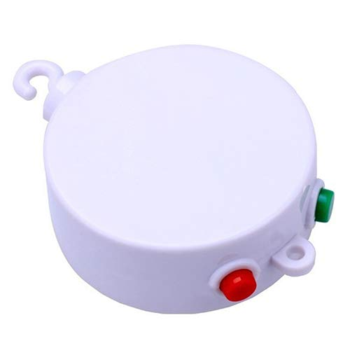 Yimosecoxiang Birthday Gift Toy 12Melodies Baby Kids Mobile Windup Crib Bed Bell Electric Autorotation Music Box