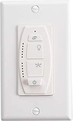 6 Speed Kichler 370036ALMTR reversing w//light dimming /& on//off DC control receiver NOT included