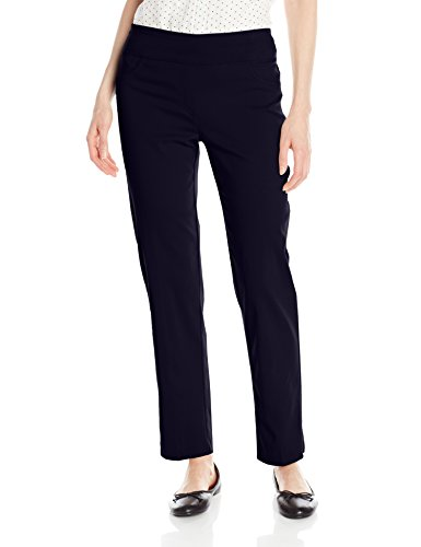 High Road Pant - Ruby Rd. Women's Pull-On Solar Millennium Super Stretch Pant, Navy, 16