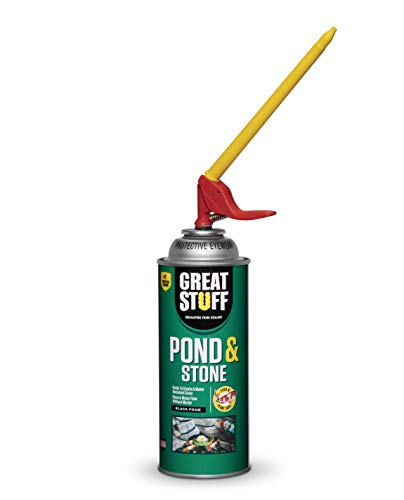 GREAT STUFF 99112849 Smart Dispenser Pond & Stone, 12 oz, Black
