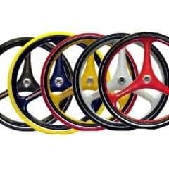 Amazon.com: x-core 3-spoke ruedas – 25