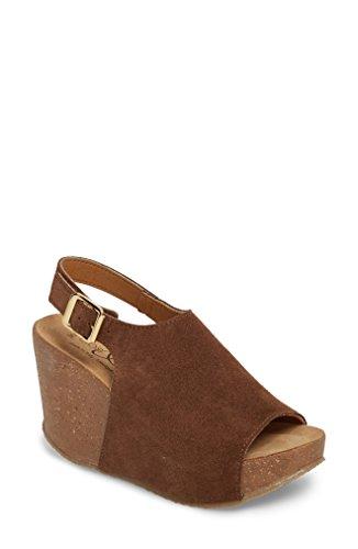 [ボスアンドコー] レディース サンダル Bos. & Co. Sheila Platform Wedge Sandal [並行輸入品]