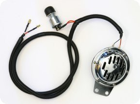 GOLF CART HORN KIT ON WIRE HARNESS CLUB CAR YAMAHA EZ-GO Yamaha Golf Cart Wiring Harness on