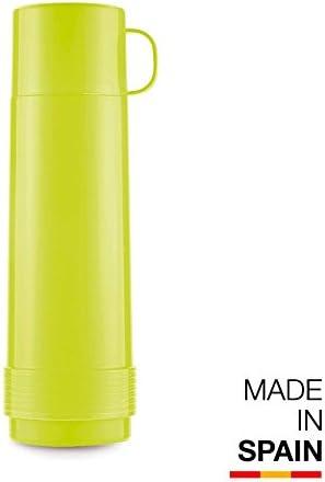 Valira Colección 1969 - Termo para líquidos de 0,5 L con botella de vidrio aislante de doble pared hecho en España, color morado: Amazon.es: Hogar