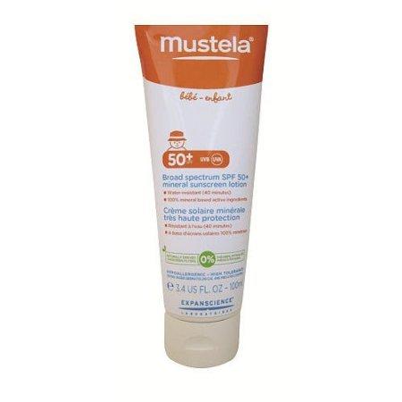 Mustela Broad Spectrum Mineral Sunscreen Lotion SPF 50+