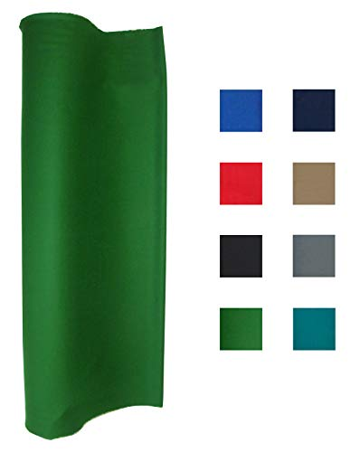 21 Ounce Pool Table Felt - Billiard Cloth - For An 8 Foot Table English Green (Billiard Tablecloth Table Accessories)