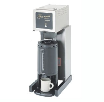 Bloomfield 8778-T Gourmet 1000 Thermal Brewer, Pour-Over Option, 14'' Depth, 10'' Width, 28 1/2'' Height by Bloomfield