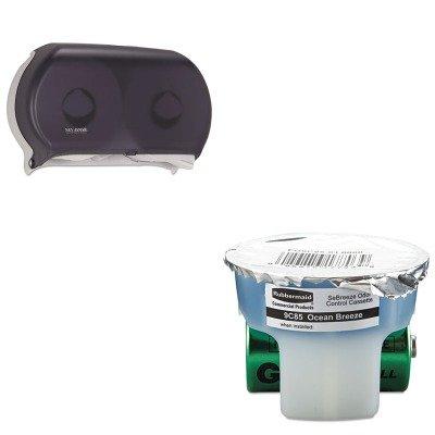 KITRCP9C8501SJMR4000TBK - Value Kit - Rubbermaid SeBreeze Fragrance Cassette (RCP9C8501) and San Jamar Twin Roll Jumbo Tissue Dispenser ()