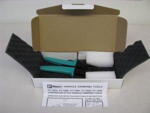 Panduit CT-1002 Controlled Cycle Crimping Tool, Ferrule End Sleeve by Panduit