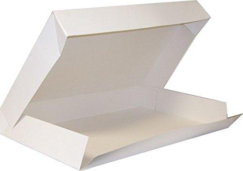 25 boites Blanche Plateau Traiteur 32x42 cm
