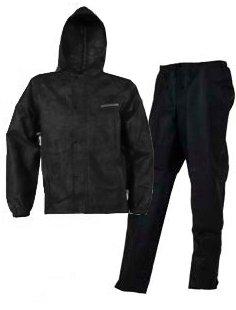 - COMPASS ST13280-10-MD SportTek T50 Womens Rain Suit, Black, Medium