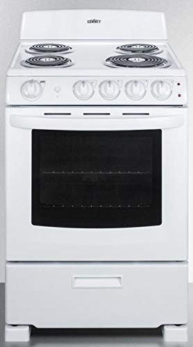 Summit RE2411W 24 Inch Electric Freestanding Range in White