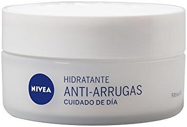 Nivea Crema Hidratante Antiarrugas Cuidado de Dia, Todo Tipo de Pieles, 50ml