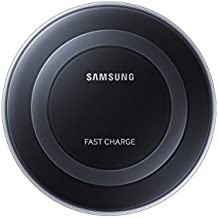 Samsung Qi Certified Fast Charge Wireless Charger Pad w/Wall Charger-Supports Qi compatible phones including Samsung GS 8, 8+,Note 8, Apple iPhone 8, 8Plus, and iPhone X (US Vers.)-Black