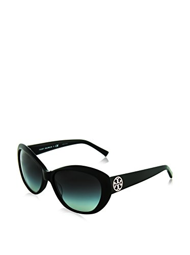 Tory Burch Women's TY7005 Black/Smoke Gradient Lens ()