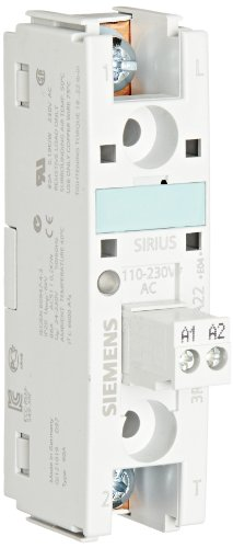 Siemens 3RW30 03-2CB54 Soft Starter, Easy Starting Conditions and High Switching Frquency, Spring Type Terminals, 200-400V Rated Operational Voltage, 24-230VAC/VDC Control Supply Voltage, 3A Rated Operational Current at 40 Degrees Celsius