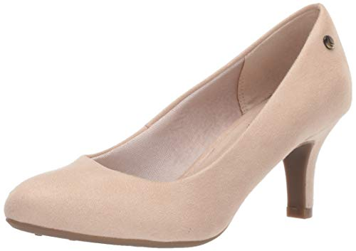 - LifeStride Women's Parigi Pump, Taupe Microsuede, 11 Narrow