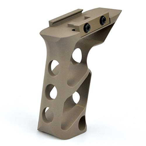 Doreen Aluminum Long Angle Handle Solutions for Picatinny Rail Mount Accessories FDE