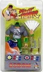 (Street Fighter Sodom 15th Anniversary Round One Gray Outfit Variant Action Figure)