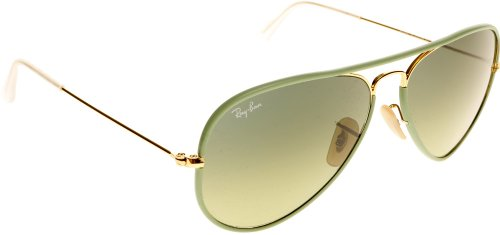 Ray-Ban Sunglasses - RB3025JM / Frame: Green Lens: Green Gradient - Bifocal Ban Sunglasses Ray