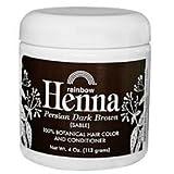 Rainbow Research Persian Dark Brown Henna, 4 Ounce - 6 per case.